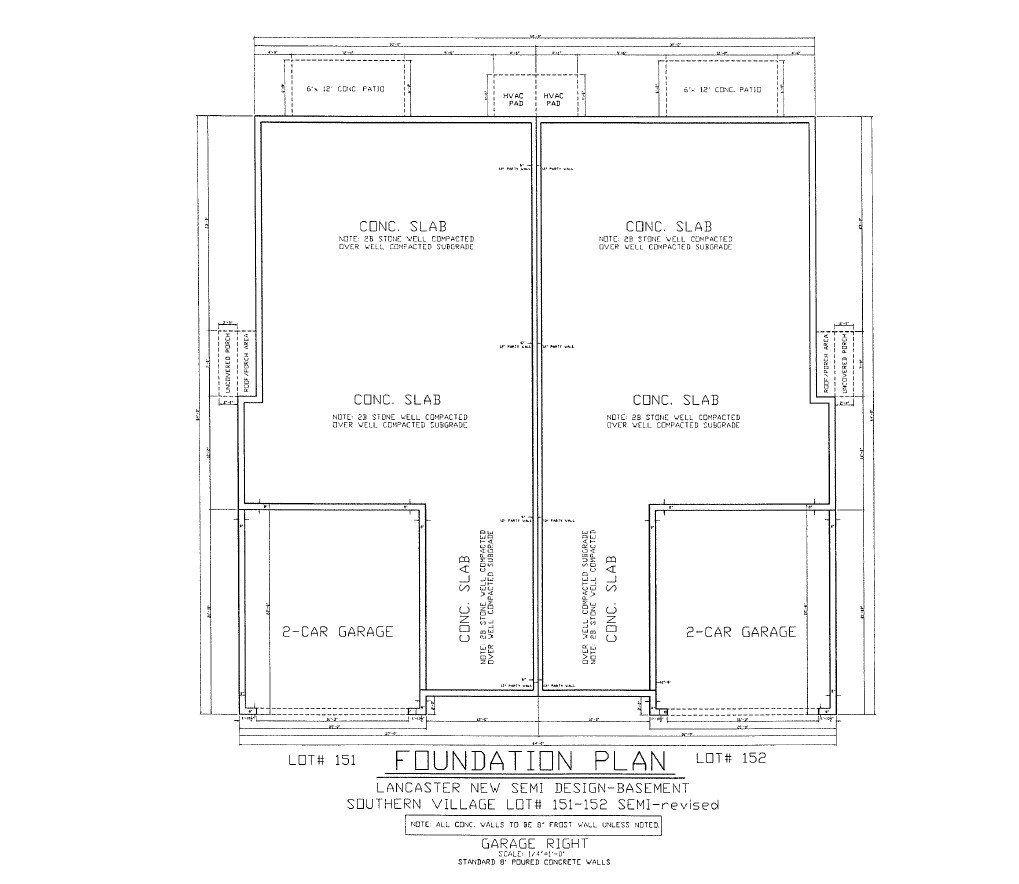 Foundation Plan